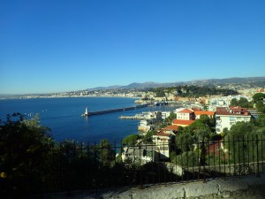 A view of the french Riviera