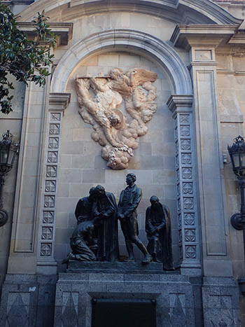 A Monument in Barcelona, Spain