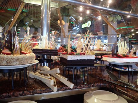Desserts on Carnival Fascination's Chocolate Buffet